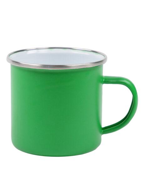 Emaille-Mok-Groen