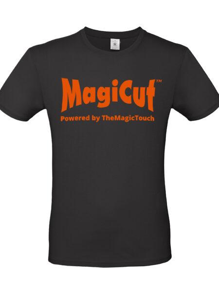 T-shirt Voorkant Bedrukt MagiCut 123Flex Oranje
